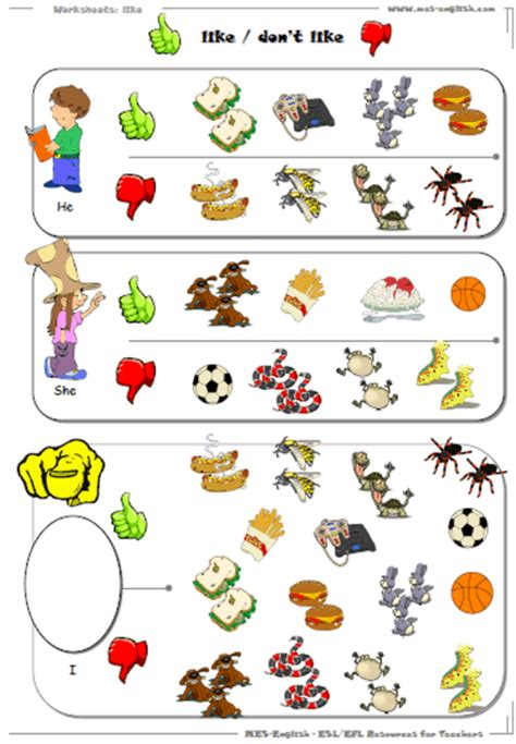 Exercise Worksheets by Talking Worksheets For Practice With Follow Up