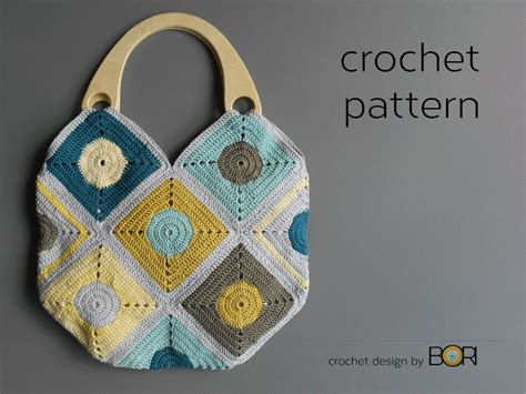 Handmade Crochet Bags And Purses - handmade crochet bag pattern