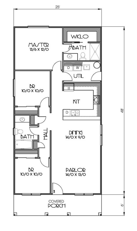 3 bedrooms 2 baths cottage style house plan 3 beds 2 baths 1200 sq ft plan