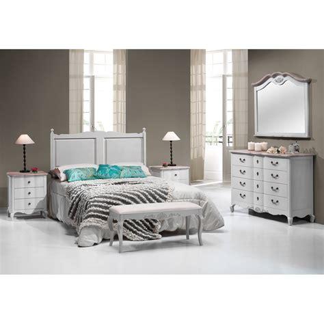 dormitorio blanco de matrimonio provence demarques
