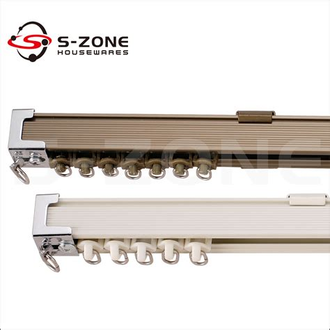 vorhangschiene ecke curtain rods and rails with aluminum rail curtain