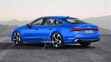 Audi In Hybrid 2020 by 2020 Audi Rs7 Rendering Is Begging For 700 Hp Hybrid V8