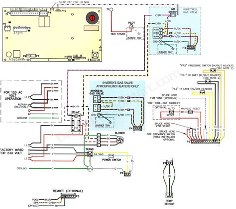 raypak heater wiring diagram configurationraypak heater