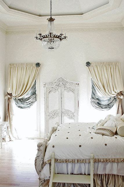 french bedroom curtains french cottage cottage bedrooms and romantic on pinterest