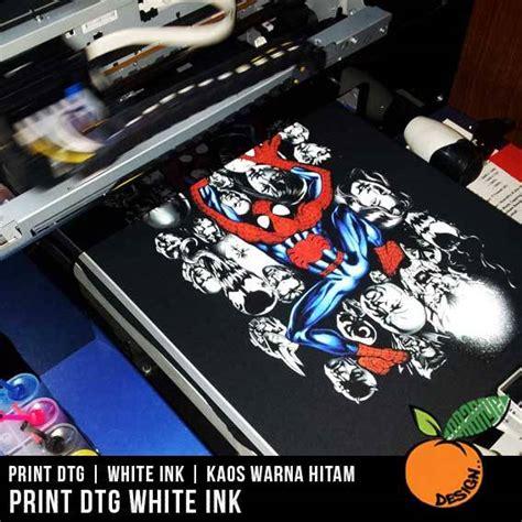 Kaos Print sablon kaos satuan menggunakan print kaos dtg dengan harga