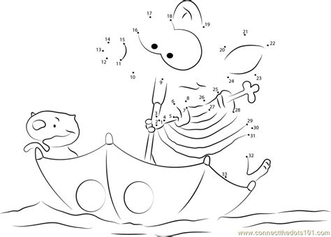 pin toopy and binoo coloring pages on pinterest