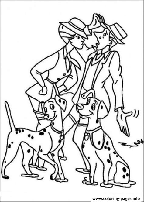 walking dog coloring page roger and anita walking the dogs 3375 coloring pages printable