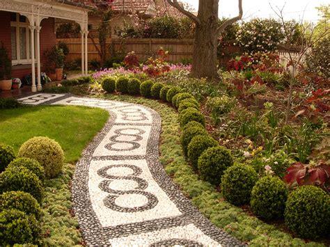 victorian gardens gardenscape design victorian house pinterest stone paths victorian