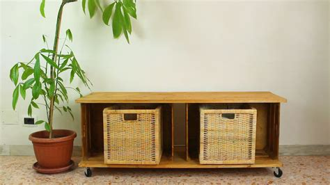 wooden crate bench transform wooden crates into a storage bench
