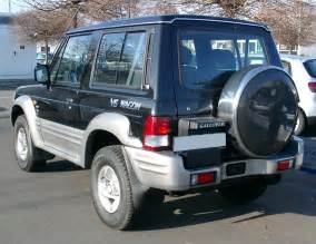 Hyundai Galloper File Hyundai Galloper Rear 20080104 Jpg Wikimedia Commons