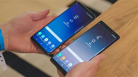 samsung galaxy s9 vs galaxy note 8 which is supreme