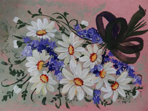 one stroke flowers painting 301 moved permanently