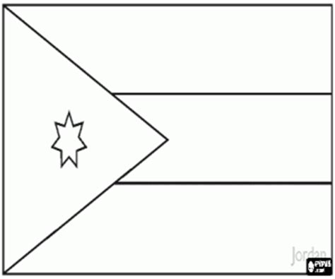 coloring pages of jordan s flag flags of countries of asia coloring pages printable games 3