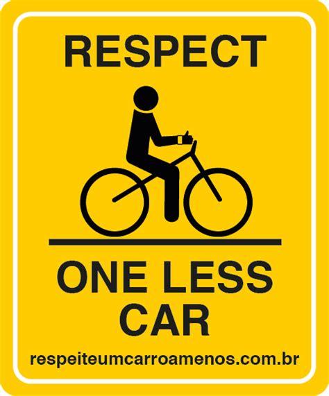 Placas De Carro En Ingles   placa refletiva em ingl 234 s para bicicleta respeite um
