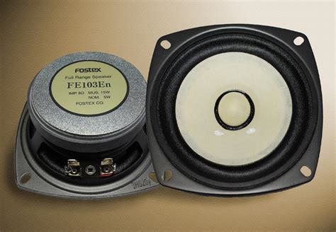 Speaker Fostex 18 Inch fostex fe 103 en fullrange loudspeaker measurements data
