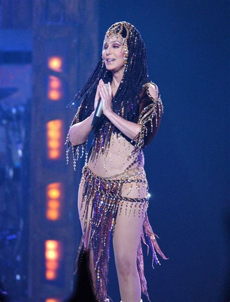 cher wows with outrageous outfits at dressed to kill cher is basically naked in her new tour donald o connor