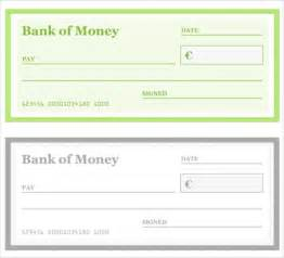 check templates free presentation cheque template free blank check