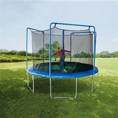 sportspower 12 ft troline with 3 arch enclosure and