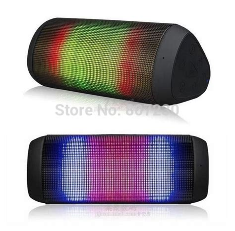 New Promo Lu Led Speaker Wireless Fleco F603 Warna Disco original royqueen bluetooth speaker color led portable mini blutooth speakers stereo