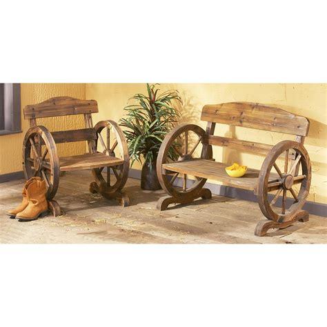 wagon wheel chair 90384 patio furniture at sportsman s