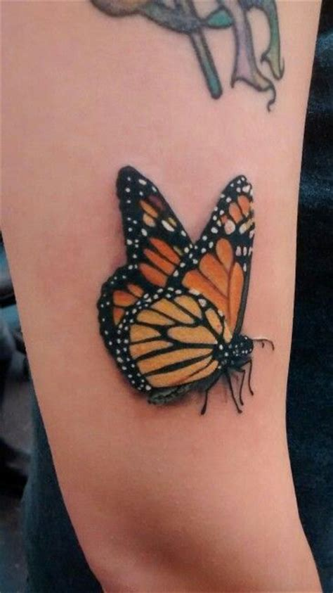 butterfly tattoo with numbers wish the butterfly on my ankle and lower back was this