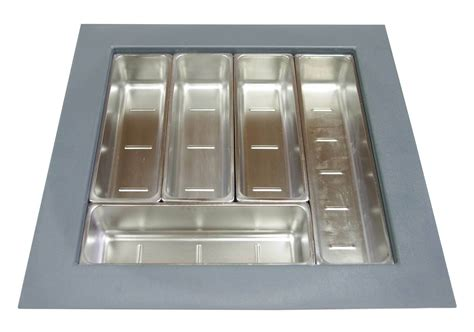 Stainless Steel Drawer Inserts by Kci03sg Stainless Steel Cutlery Drawer Insert