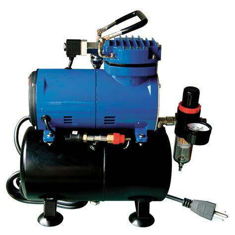 paasche d3000r airbrush compressor with storage tank