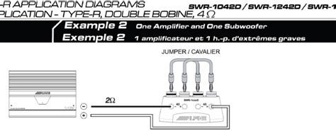 alpine type r 12 wiring diagram wiring diagram and