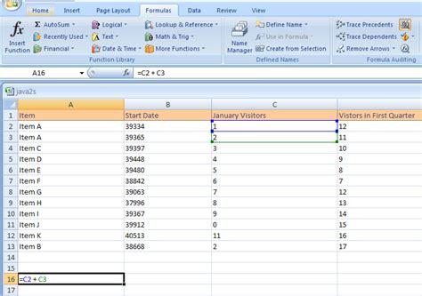 tutorial excel formulas 2007 display formulas in cells formula 171 formula 171 microsoft