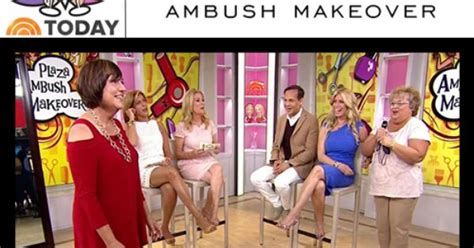 today show ambush makeover this week our infamous cold shoulder tunic in red featured on