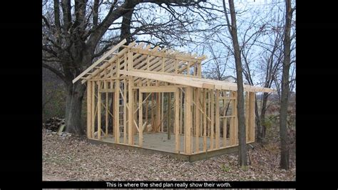 shed plans  porch youtube