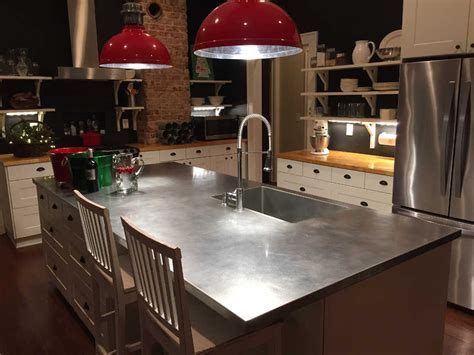 stainless steel countertop with built in sink stainless steel counter tops sinks cabinets and
