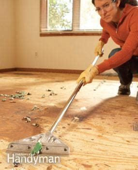 Tips for Removing Carpet   The Family Handyman