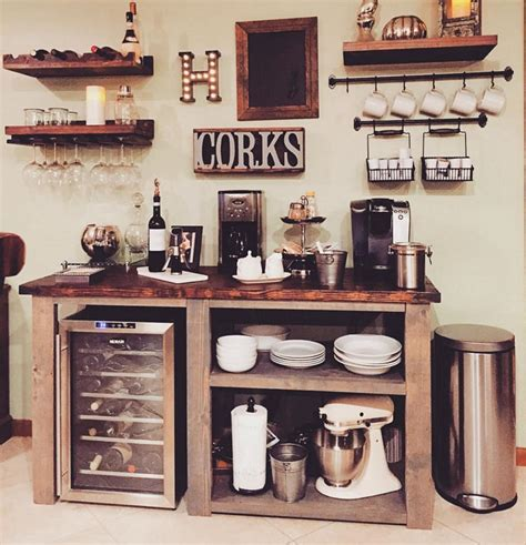 elegant home coffee bar design and decor ideas 14700 decoor