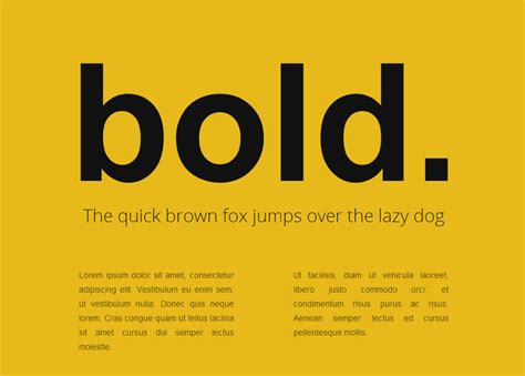 html layout bold 20 exles of beautiful css typography design wdexplorer