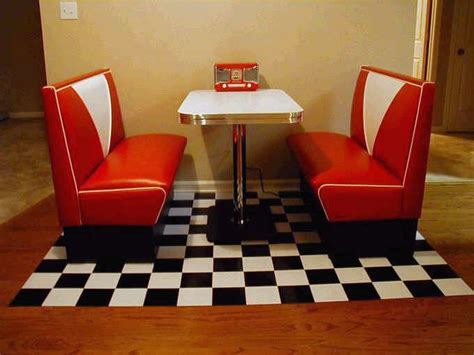 diner kitchen table annettes diner booth retro kitchen and white