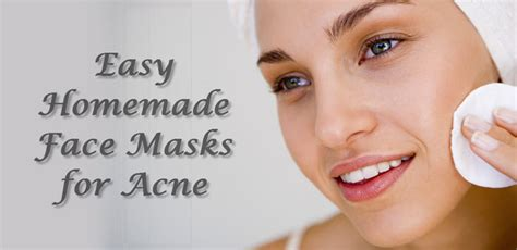 diy mask for pimples 5 easy masks for acne that really work