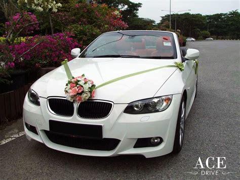 Wedding Car Bmw by Bmw 320i Cabriolet Wedding Car Decorations