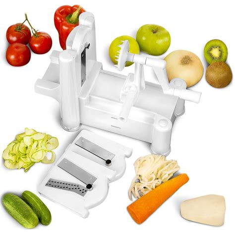 spiral cutter manual multi blade spiral vegetable slicer only 20 95 shipped