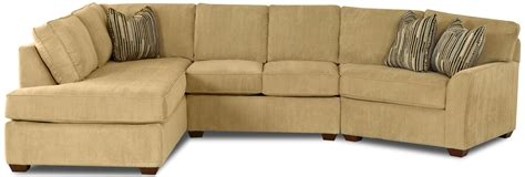 klaussner sectional sofa contemporary sectional sofa with left chaise by klaussner