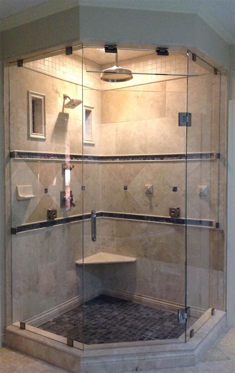 How To Install Glass Shower Doors Frameless Glass Shower Doors Raleigh Nc Featured On Hgtv S Quot It Or List It Quot