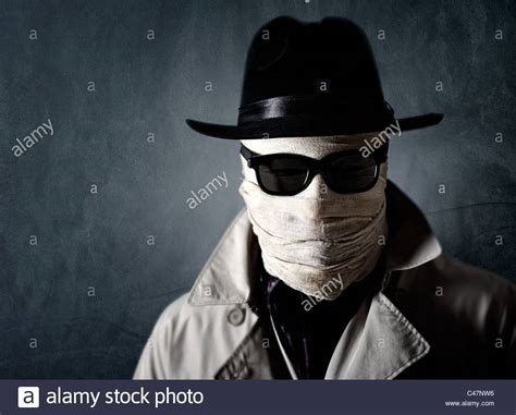 the invisible man portrait of a bandaged man similar to the invisible man or the stock photo 37050194 alamy