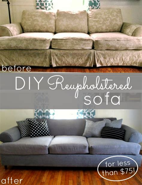 best fabric to reupholster a couch 6 projects showing how to reupholster an old sofa