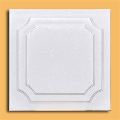 Polystyrene Foam Ceiling Tiles by 50 Pc Lot Of Anet White Styrofoam Ceiling Tile Easy Instalation Glue Up