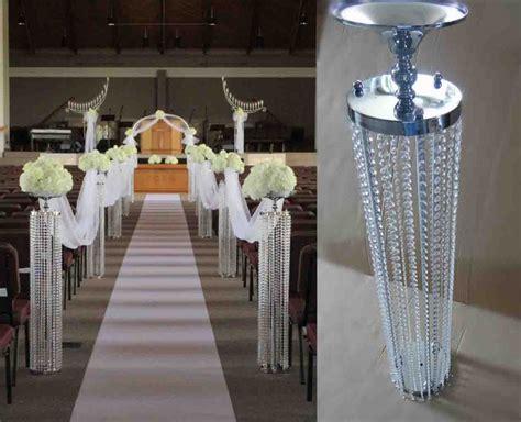 Square Voal Design 01 120cm h 20cm w wedding pillar wedding road lead