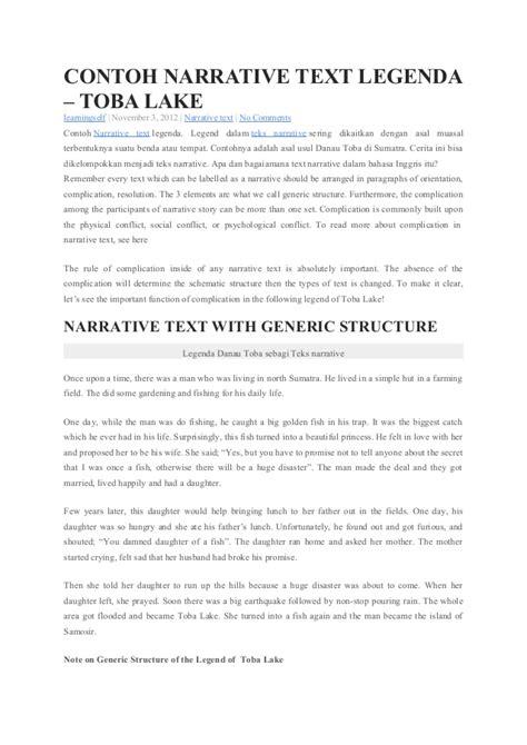 membuat narrative text beserta artinya contoh descriptive text about borobudur temple mika put