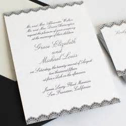 wedding invitations how to word and assemble wedding invitations
