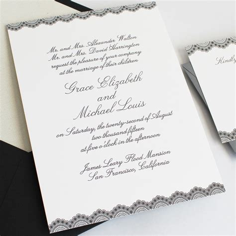 Wedding Invitation by How To Word And Assemble Wedding Invitations