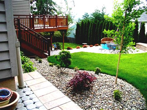 simple backyard landscape ideas best simple garden design ideas best ideas 6106