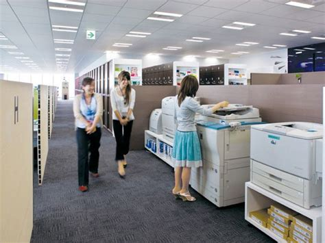 home printing office designs hewlett packard japan ltd okamura s designed workplace